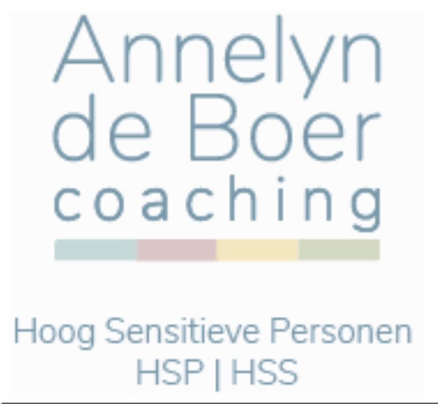 Annelyn de Boer - Coaching voor Hoog Sensitieve Personen /HSP-HSS